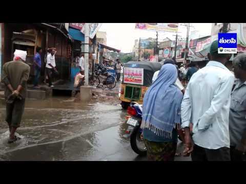 Nehru Nagar, Guntur Water Overflow Problem