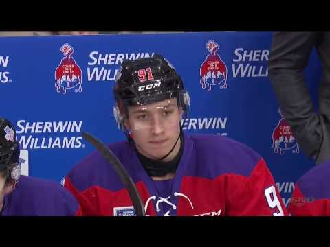 CHL 30.01.2017 Top Prospects Game  Team ORR  -  Team CHERRY