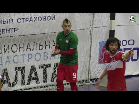 СПАРТАК - ДИНА-д. Отчёт о матче