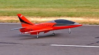 REBEL PRO RC TRAINER MODEL TURBINE JET FLIGHT DEMONSTRATION / Jetpower Fair 2016