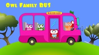 Wheels On The Bus Go Round And Round ☜♥☞ Nursery Kids Rhymes ☜♥☞ Wheels On The Bus Song