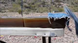 10mm gel test: Double Tap 230 gr Equalizer (two projectile cartridge)