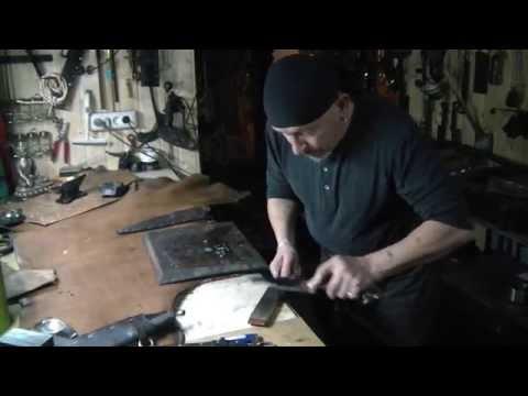 Правка ножа с Борисом Фалиным, 13-я кузня