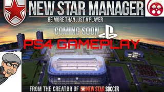 New Star Manager PS4 Gameplay