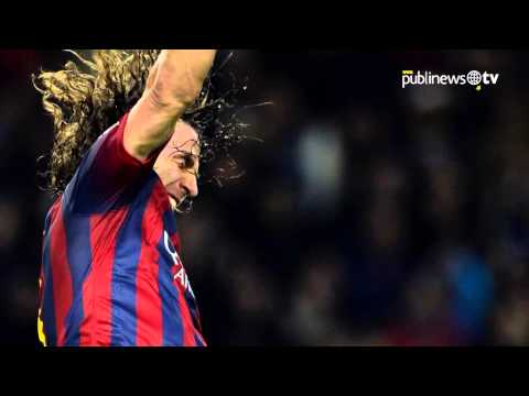 Puyol leaves barcelona