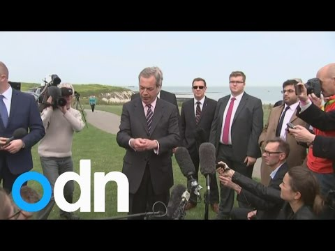 Nigel Farage resigns as leader of UKIP