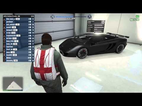 GTA V (PS4 Gameplay) Viewing My Garage