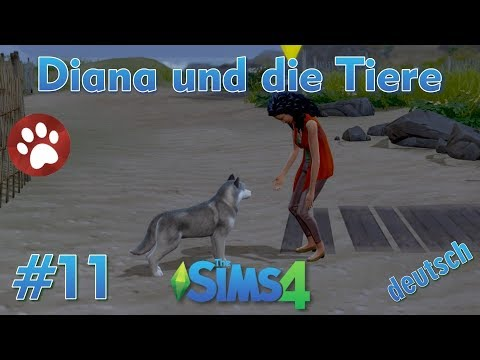 Sims 4 - Diana und die Tiere #11 - Diana lernt einen Husky kennen