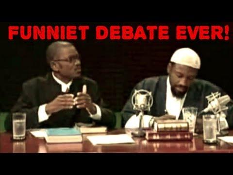 FUNNIEST Muslim Christian Debate Ever!!!