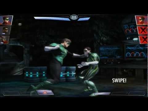 Injustice: Gods Among Us - Green Lantern New 52 Character Unlocked [iPad] [Gameplay]