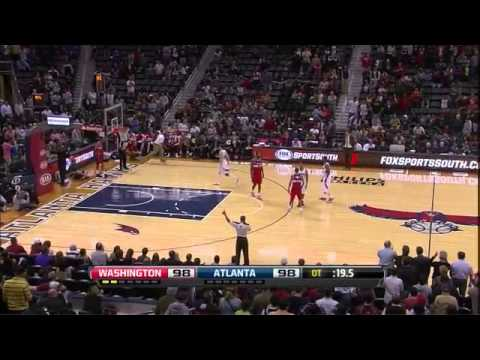 Kyle Korver 16 Points vs Wizards and game winner [21.11.12]