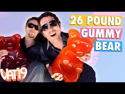 The 26-pound Gummy Bear video