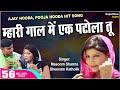 Download Ajay Hooda & Pooja Hooda Brand New Haryanvi Song | Olha Mein Patola MP3 song and Music Video