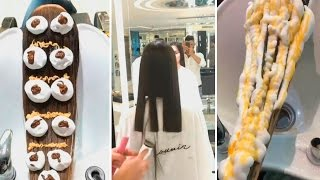 Top Amazing Haircut and hair colour transformations by Mouniiiir