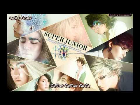 Super Junior (슈퍼주니어) - 걸리버 (Gulliver) (hun sub) [Ashiyo Fansub]