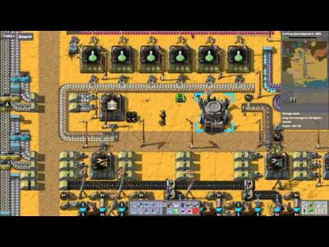 Let's Play Factorio 5.025: 100 Refineries