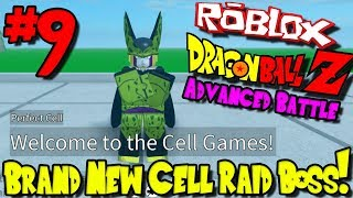 BRAND NEW CELL RAID BOSS! | Roblox: Dragon Ball Advanced Battle - Episode 9