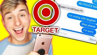 "Pranking TARGET with ""Side to Side"" Ariana Grande Song Lyrics"