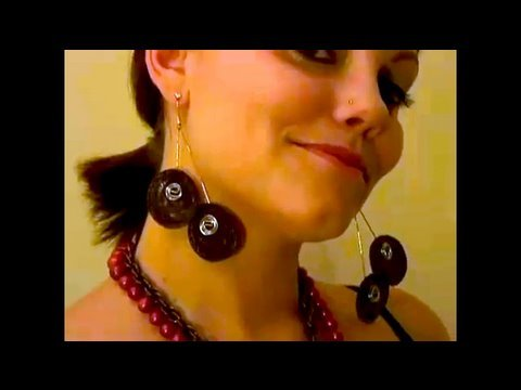 How-To Make Bottle Cap Earrings, Threadbanger