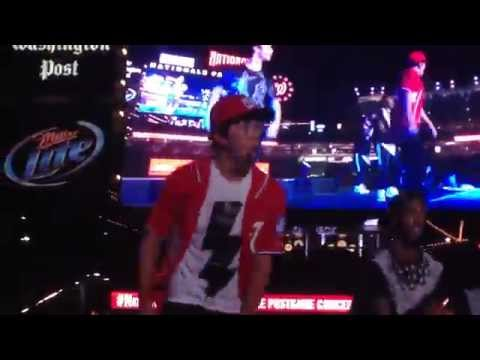Austin Mahone What About Love - NatsLive Concert, Washington DC 7/19/14