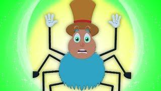 incy wincy con nhện | con nhện ươm vần | Incy Wincy Spider