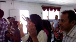 Prophet Megan Mahaffey ministry time on Trinity Mission Church of Guatemala Part 1