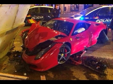 Super Car Crash Compilation   Luxury Car Crashes and accidents # 1