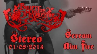 Bullet For My Valentine - Scream Aim Fire Guitar Cover | Stereo