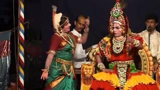 Yakshagana Chithrapuara kshethra mahathme YALAGUPPA as Komale