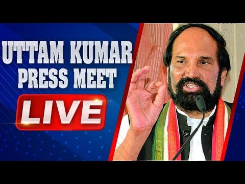 TPCC Chief Uttam Kumar Reddy Press Meet Live | Telangana Elections 2018 | ABN Live