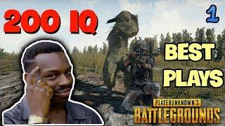 200 IQ Players PUBG - Best of PUBG Stream Highlights Ep. 1
