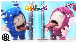 Christmas | SNOW FUN With Oddbods | Christmas Cartoons | Funny Cartoons For Children