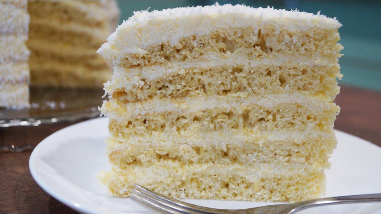 Торт творожный рафаэлло рецепт
