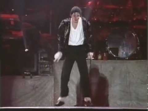 michael jackson - MOONWALK in history 1996