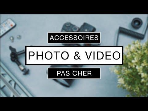 5 Accessoires PAS CHER pour la Photo / Vidéo !
