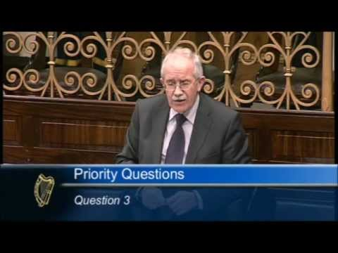 Seamus Healy TD raises Abbott redundancies in the Dáil today.