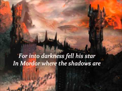 Anois - The Fall Of Gil-galad