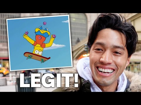 Pro Skater Reviews Bad Skateboard Cartoon Scenes