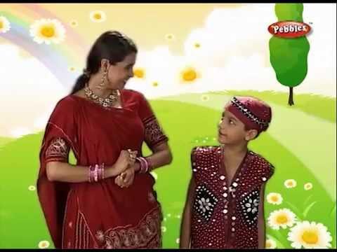 Gujarati Rhymes For Kids   16 Prabhu Namiye   Gujarati Bhajan   Gujarati Aarti video