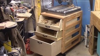 Heavy Duty Mobile Cart from 2x4