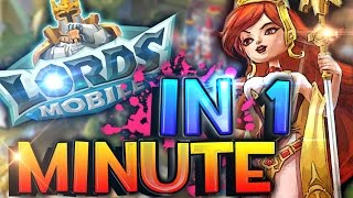 Lords Mobile en un Minuto | Lords Mobile in 1 Minute Funny :D