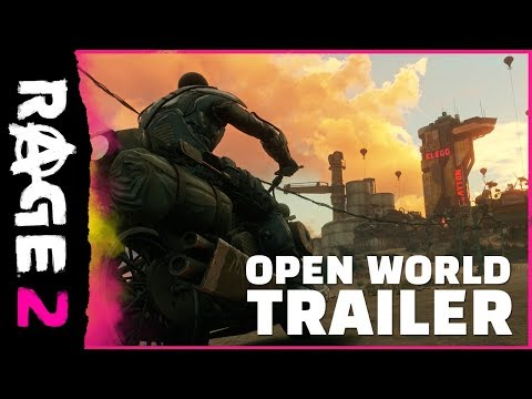 RAGE 2 Open World Trailer PEGI