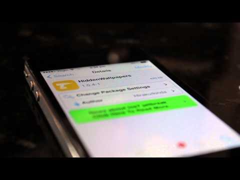 Live Wallpaper Enabler + HiddenWallpapers - Live Wallpapers on iPhone 4