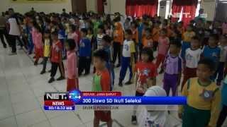 Download Lagu NET24 - 300 Siswa SD di Bekasi mengikuti seleksi Polisi Cilik Gratis STAFABAND