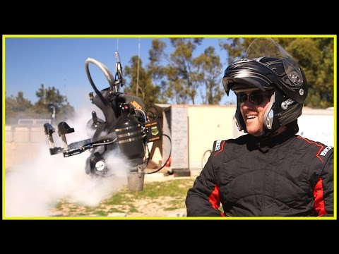 I FLY A JETPACK - DTR Tech Review - Mischa Pollack JetPack Aviation Flight