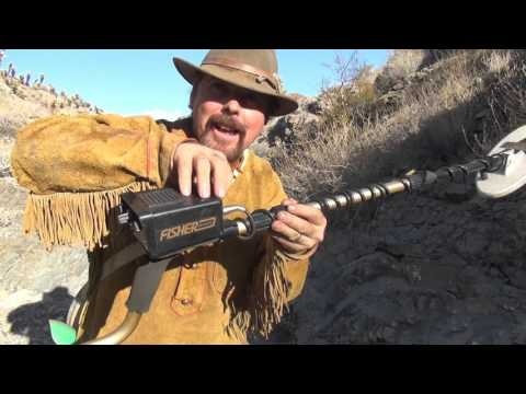 METAL DETECTING FOR GOLD !!! Using a Gold Bug 2.  ask Jeff Williams