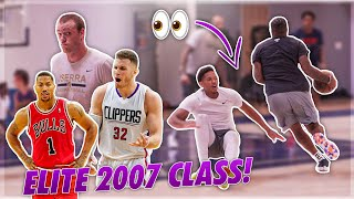 He Was RANKED With DROSE, KEVIN LOVE & BLAKE GRIFFIN in high school?! 😱 5v5 JLawBball Pro Runs