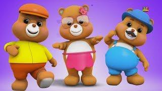 Orsacchiotti dito famiglia   dito famiglia canzone   rime bambino   Teddy Bears finger Family Song