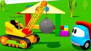 Pequeño Leo - La Grúa - Coches infantiles - Carritos para niños - Camiones infantiles