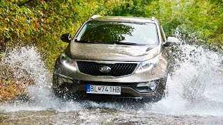 KIA Sportage - Off road test